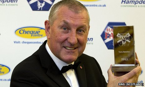 Inverness manager Terry Butcher