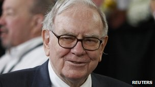 Warren Buffett, chief executive of Berkshire Hathaway