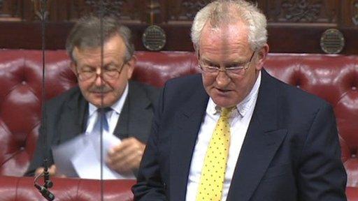 Conservative peer Lord Shrewsbury
