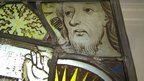 Stained glass from Coventry Cathedral