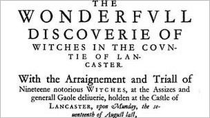 The wonderful discovery of witches book