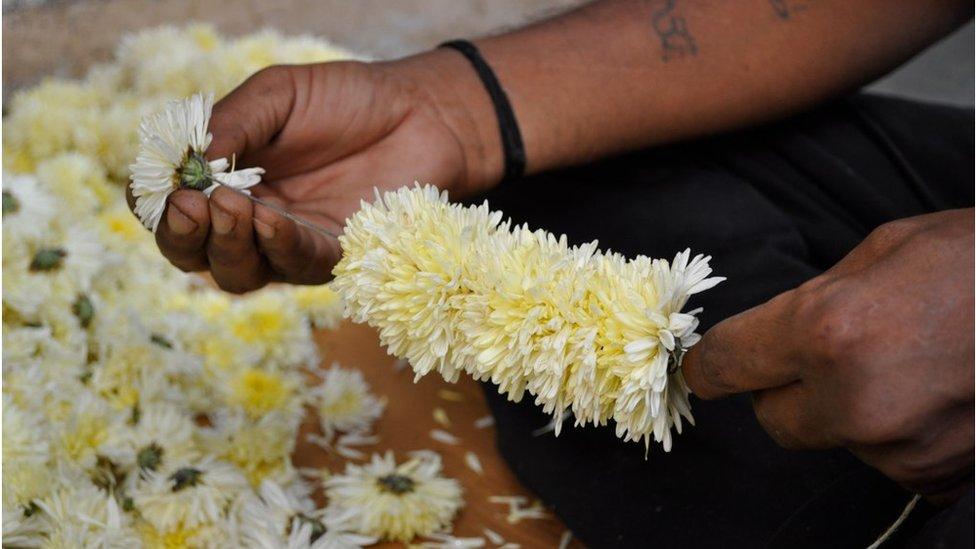BBC News India 39 S Love Affair With Flowers