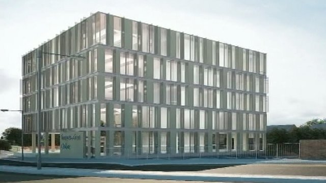 Artist's impression of Northampton Cube