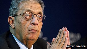 Arab League Secretary General Amr Moussa