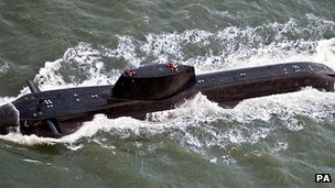 Astute class submarine