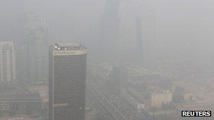 Smog in Beijing (November 2011)