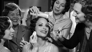Berenice Bejo (centre) in The Artist