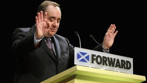 Alex Salmond was named Politician of the Year by Spectator magazine