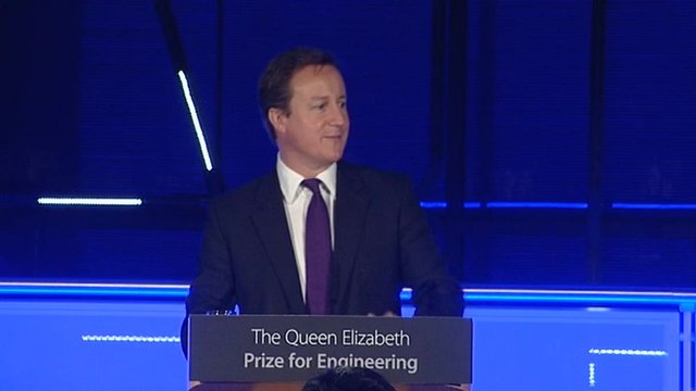 David Cameron Queen Elizabeth Prize for Engineering