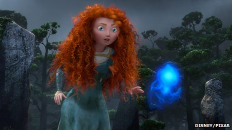 Still from new Pixar film Brave. Pic: Disney/Pixar