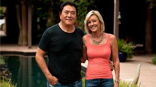 Robert Kiyosaki and his wife Kim
