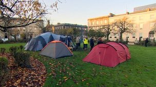 Blythswood protest camp