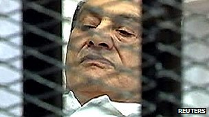 President Mubarak in court