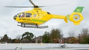 The Hampshire and Isle of Wight Air Ambulance