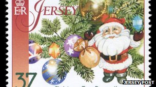 Jersey Post Christmas stamps