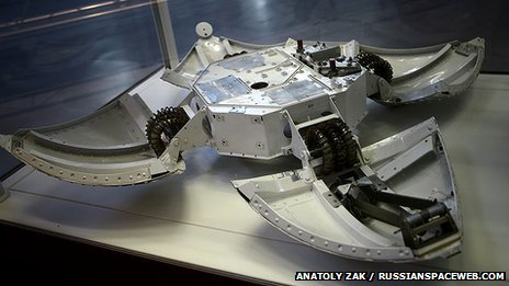 Mars-96 lander hardware  Credit: Anatoly Zak / RussianSpaceWeb.com