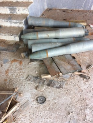 Unattended Libyan missiles