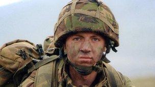 Lance Corporal Peter Eustace