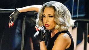 Lady Gaga at Children In Need Rocks
