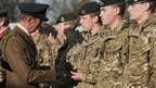 1st Battalion The Rifles being given the freedom of the town of Chepstow