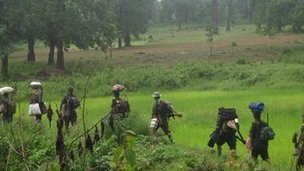 Maoists on the move in Chhatisgarh