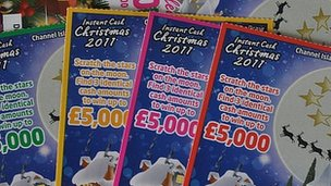 Channel Islands Christmas Lottery tickets