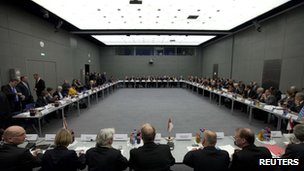 German Federal and state ministers attend conference on far right violence