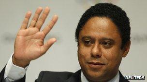 Brazil's former Sports Minister Orlando Silva