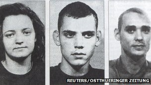 Three suspected members of the neo-Nazi group