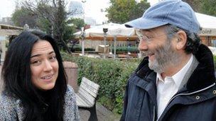 Banu Guven and Robin Lustig
