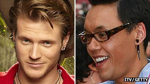 Dougie Poynter and Gok Wan