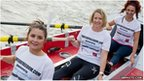 Kate Richardson (front) from Portadown is part of a six member team planning to row 3,000 miles across the Atlantic.