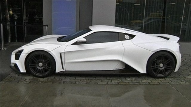 Supercar With Horsepower Hit Market Bbc News