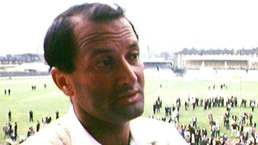 England all-rounder Basil D'Oliveira