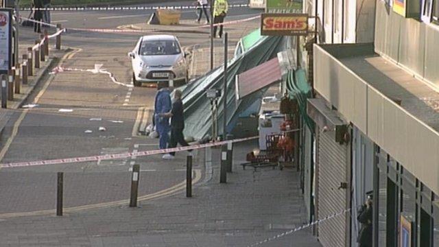 Kinsbury attack scene