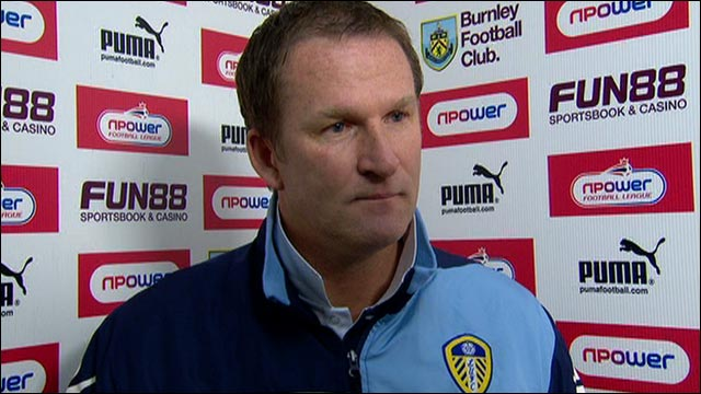 Leeds United manager Simon Grayson