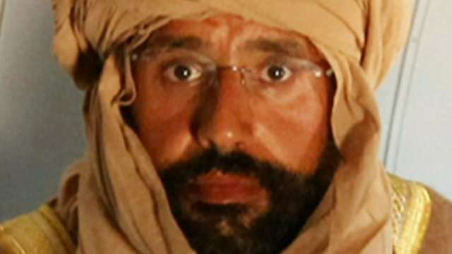 Saif al-Islam Gaddafi after his capture