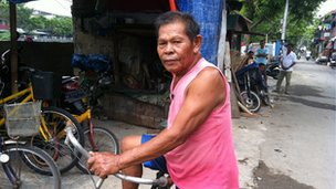 62 year old Sewi has lived in Jakarta for the last two decades