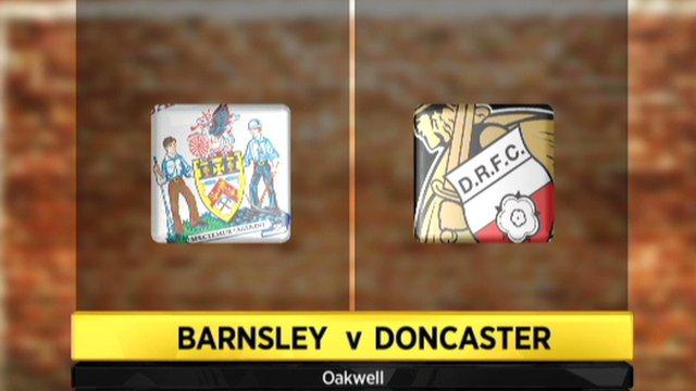 Barnsley 2-1 Doncaster