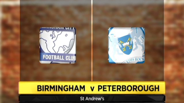 Birmingham 1-1 Peterborough