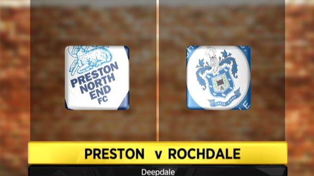 Preston 0-1 Rochdale