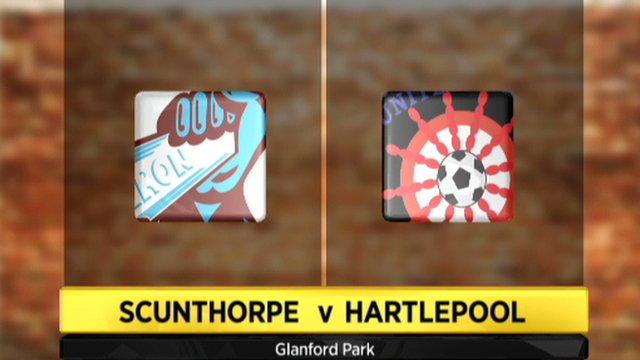 Scunthorpe 0-2 Hartlepool