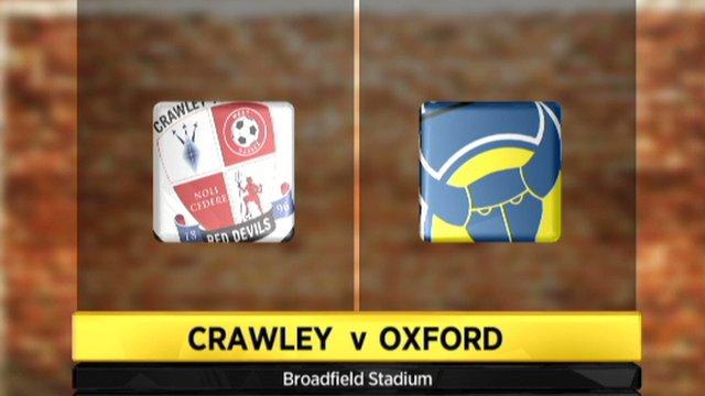 Crawley Town 4-1 Oxford Utd