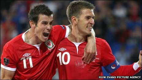 Gareth Bale and Aaron Ramsey