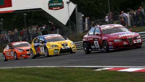 World Touring Car Championship at Brands Hatch