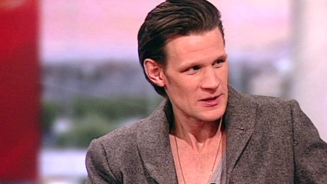 Matt Smith, aka Doctor Who