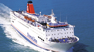 The Stena Europe superferry