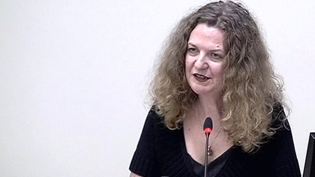 Writer and journalist, Joan Smith, gives evidence at the Leveson Inquiry