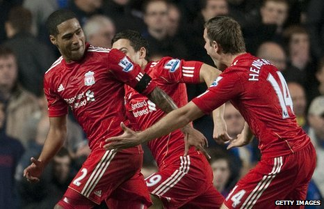 Glen Johnson (left) and Jordan Henderson