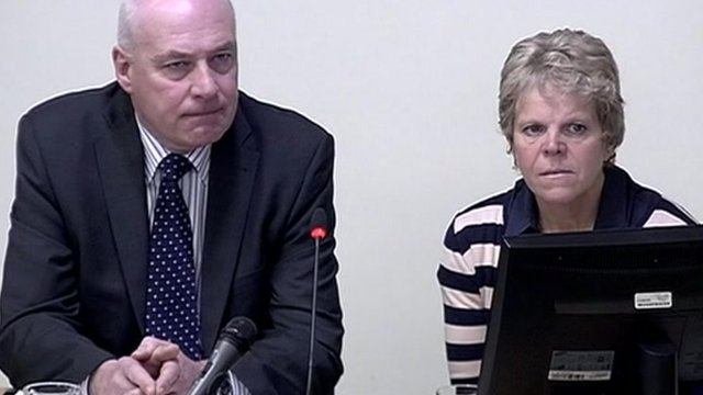 Bob and Sally Dowler at the Leveson Inquiry
